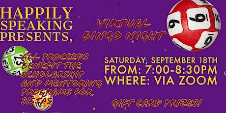 Virtual Bingo Fun Night tickets