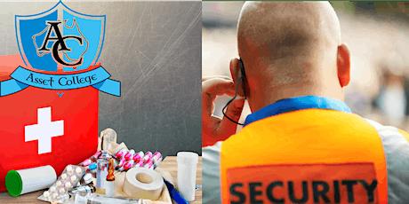 Crowd Control Revalidation + Advanced First Aid - Logan tickets
