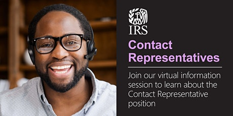 Virtual Information Session about the Contact Representative position tickets