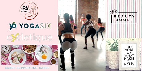 Breathe, Booty Burn  + Brunch with Cycletique and YogaSix at The PA Market tickets