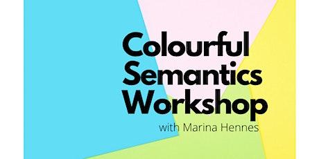 Colourful Semantics Workshop tickets