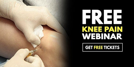 Free Webinar: Non-Surgical Knee Pain Relief Event - Alexandria, VA tickets