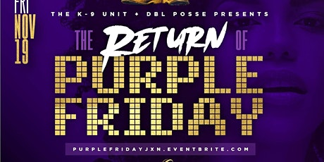The Return of Purple Friday @ Lavish Lounge tickets