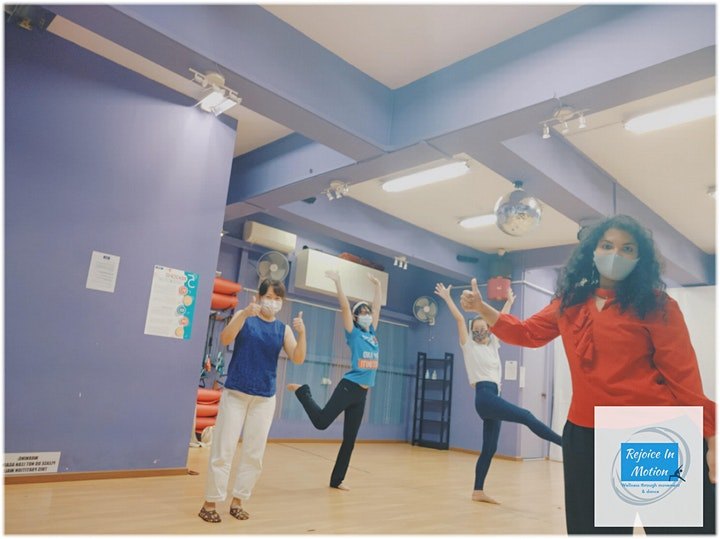 In-person Dance Movement Therapy Workshop (Singapore) image