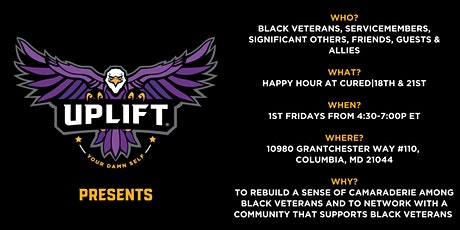"""Uplift presents """"1st Friday Happy Hour of Power"""" at Cured 18th & 21st tickets"""