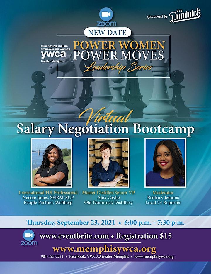 Power Women, Power Moves Leadership Series: Salary Negotiation Bootcamp image