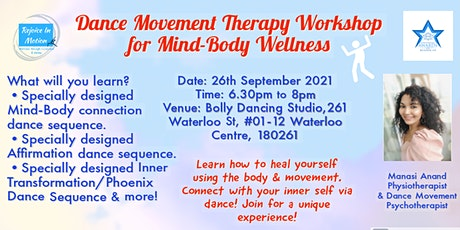In-person Dance Movement Therapy Workshop (Singapore) tickets