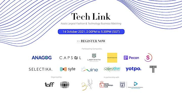 TechLink 2021 - Singapore  Israel image