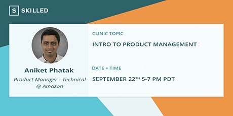 Intro to Product Management tickets