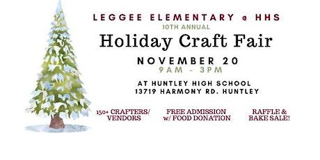Leggee Holiday Craft Fair at HHS tickets