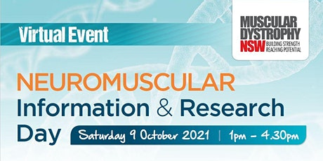 2021 MDNSW Neuromuscular Information & Research Day tickets
