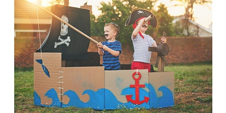 School Holiday Event: Pirate Play Day  - Online (school years K-3) tickets
