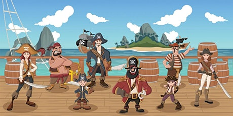 School Holiday Event: Pirates Ahoy! - Online (school years K-6) tickets