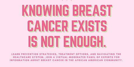 Knowing Breast Cancer Exists Is Not Enough tickets