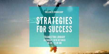Strategies for Success workshop tickets