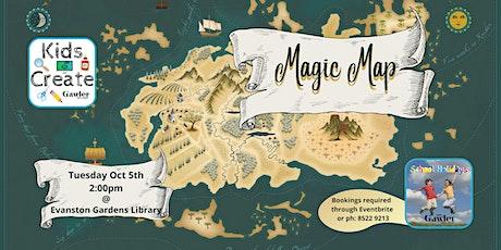 Kids Create: Magic Map tickets