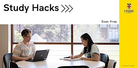 Study Hacks: Exam prep tickets