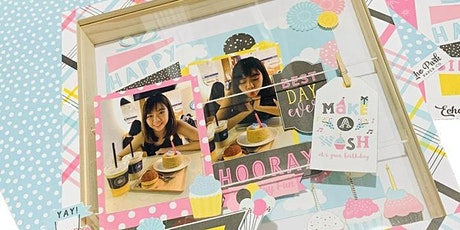Photo Display Workshop - Shadow Box For Special Occasions in Singapore tickets