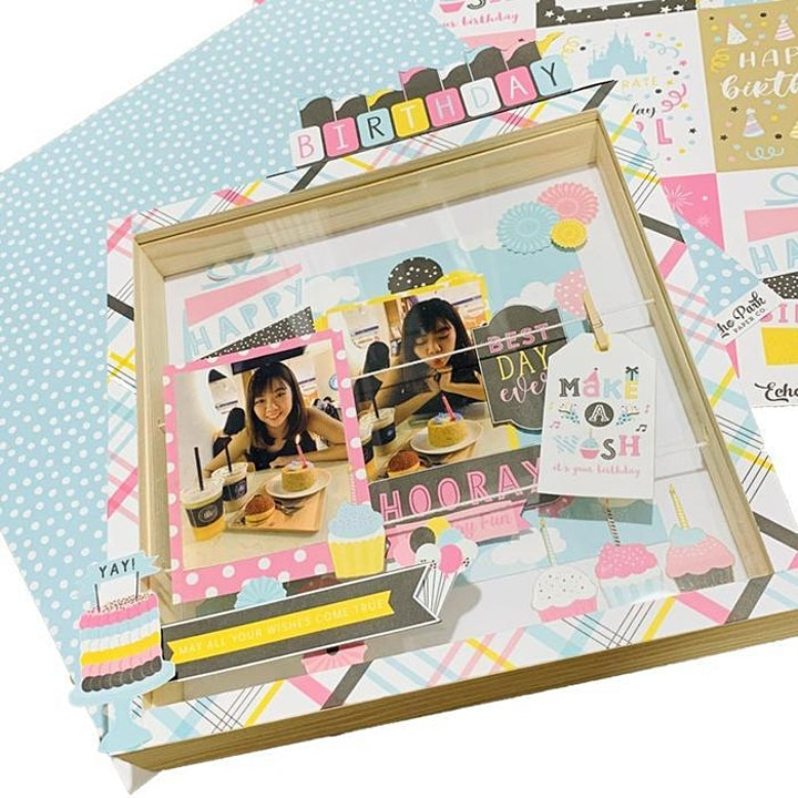 Photo Display Workshop - Shadow Box For Special Occasions in Singapore image