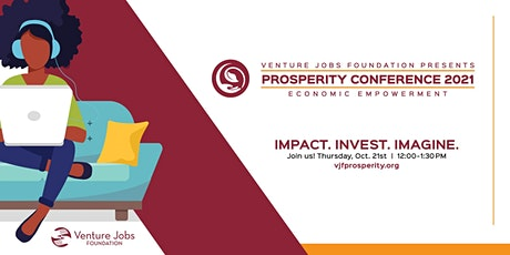 Venture Jobs Foundation Prosperity Conference tickets