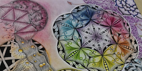 Zentangle Art Course starts  Oct 12 (8 sessions) tickets