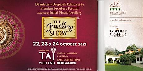 The Jewellery Show Bengaluru 2021 tickets