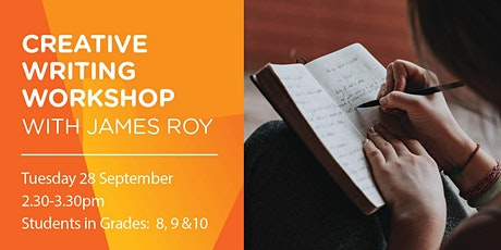 Teens Creative Writing with James Roy tickets