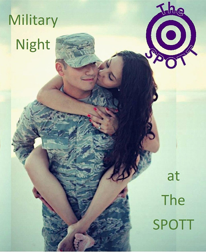 Military Night at The SPOTT! image