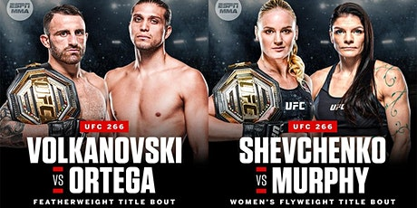 UFC 266 PPV French Quarter New Orleans Viewing Party tickets