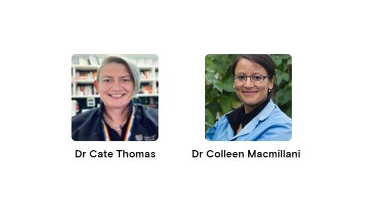 Intersectionality Webinar - Dr Cate Thomas & Dr Colleen Macmillan image