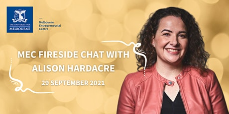 Fireside Chat with Alison Hardacre tickets