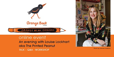 Online talk and Q&A with Illustrator Louise Lockhart tickets