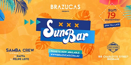 SUNBAR at The Stock - Brazilian Party tickets