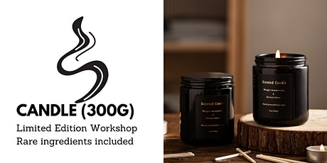 [Offer] Soywax Candle-making Workshop: 300g tickets
