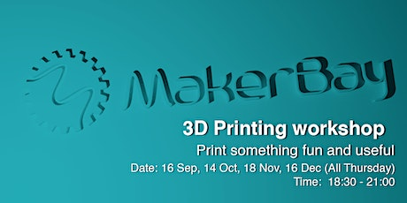 3D Printing Induction Workshop tickets