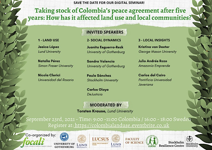 Taking stock of Colombia's peace agreement after 5 years image