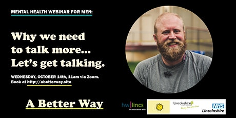 Event For Men: Why We Need to Talk More - Lets Get Talking! tickets