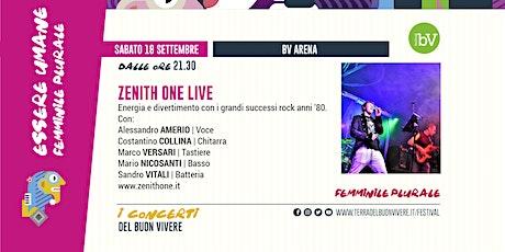 #BV21 •Zenith One live - I concerti del BV biglietti