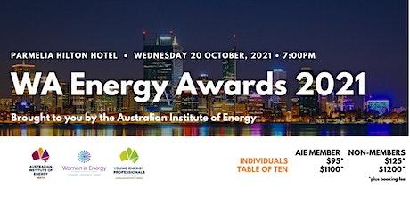 WA Energy Awards 2021 tickets
