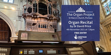 The Organ Project : Organ Recital given by Dr David Price tickets