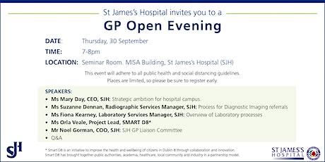 GP Open Evening tickets