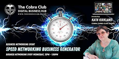 Cobra Business Generator - Online Speed Networking Event, Buckinghamshire tickets