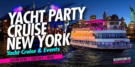 YACHT PARTY CRUISE NEW YORK CITY tickets