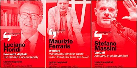 ff21 | FLORIDI - FERRARIS - MASSINI | Modena, Piazza Grande biglietti