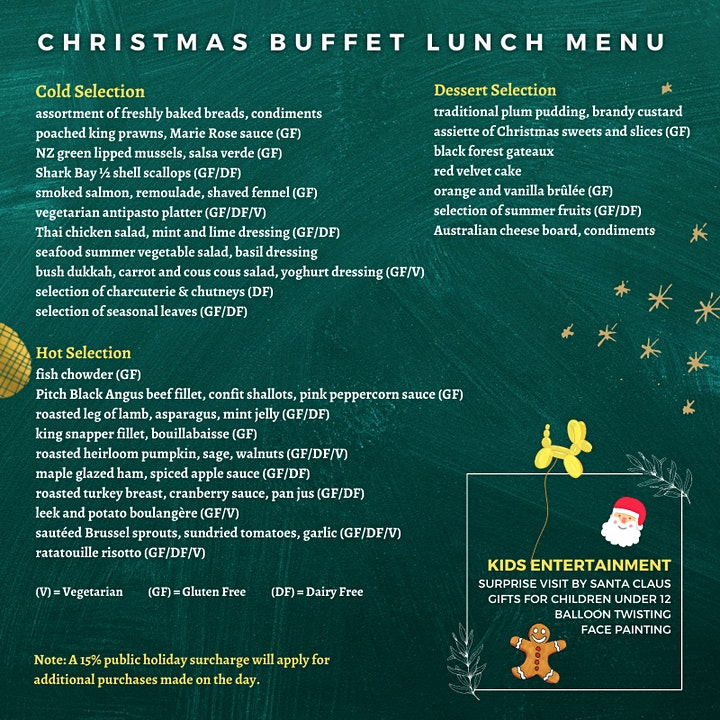 Christmas Day Buffet Lunch at DoubleTree by Hilton Perth Northbridge image