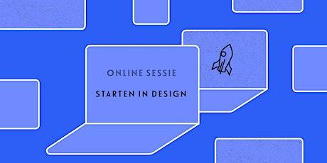 Online sessie: Starten in design tickets