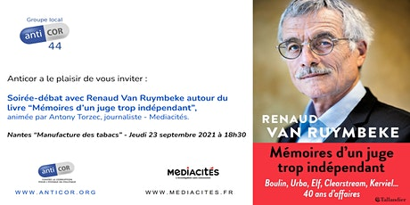 Soirée-débat avec Renaud Van Ruymbeke billets