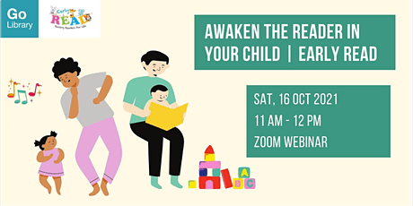 Awaken the Reader in Your Child | Early READ tickets