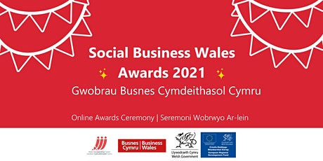 Social Business Wales Awards 2021 tickets