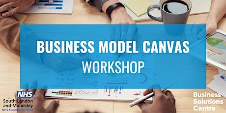 Copy of Business Model Canvas - An Entrepreneurs Workshop tickets